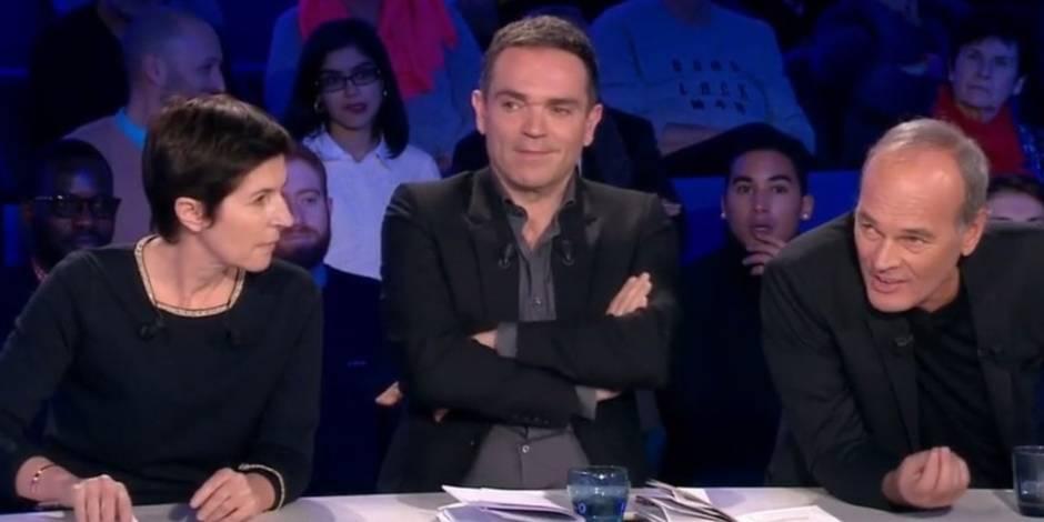 """Dans ONPC, un clash coupé au montage entre Angot et Laurent Baffie: """"Moi, folle et méchante"""""""