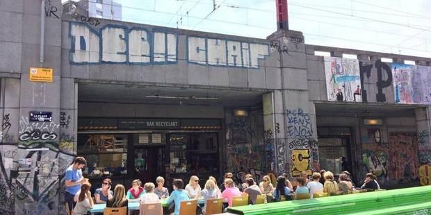 Bruxelles-Ville : 36 heures de fête pour l'adieu du Recyclart ! - La DH