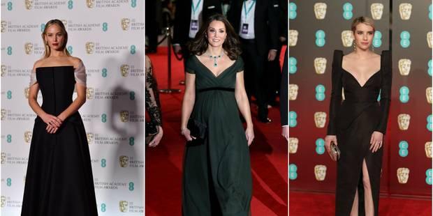 BAFTA : un tapis rouge (presque) tout noir - La DH
