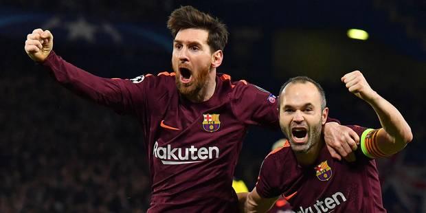 Champions League: Chelsea et le Barca se neutralisent (1-1), le Bayern en passe 5 au Besiktas - La DH