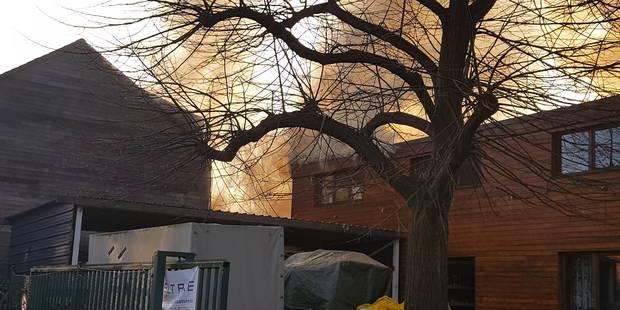 Un incendie de hangar se propage à deux habitations à Marcinelle: une plantation de cannabis à l'origine - La DH