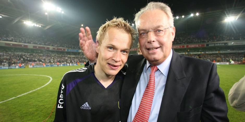 """Pär Zetterberg rend hommage à Roger Vanden Stock : """"Un grand président… surtout humainement"""""""