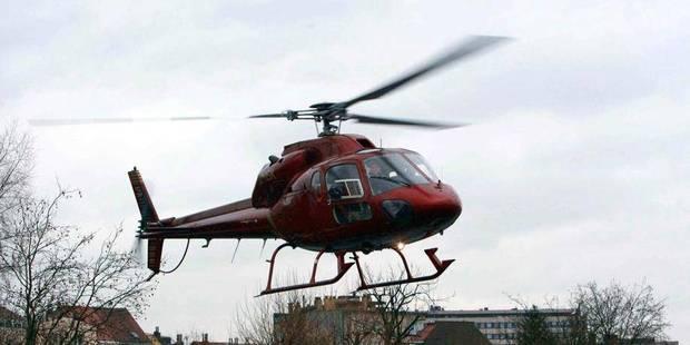 Blegny : un homme transporté par hélicoptère après un accident - La DH
