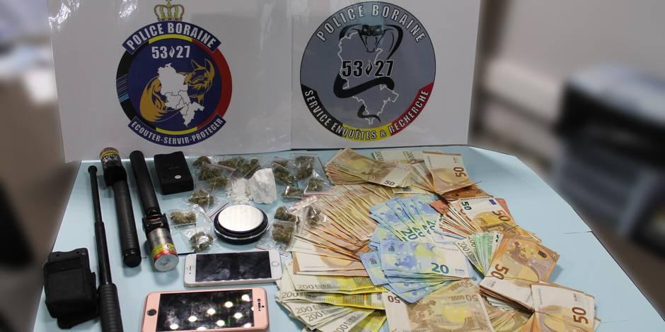 Un important trafic de stupéfiants démantelé dans le Borinage