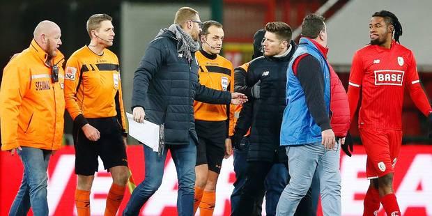 Alexandre Boucaut revient sur les phases chaudes de Standard-Bruges... Mpoku a du souci à se faire - La DH