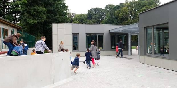 Berchem-Sainte-Agathe: Des nouvelles classes provisoires pour l'école communale néerlandophone - La DH
