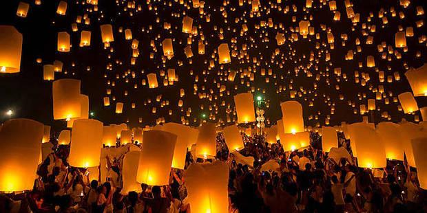 La fête chinoise des lanternes célébrée à Dinant, Durbuy et aux Grottes de Han - La DH