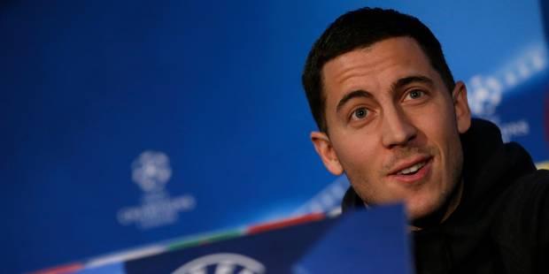 Voici le Diable rouge qu'Eden Hazard verrait bien avec lui à Chelsea (VIDEO) - La DH