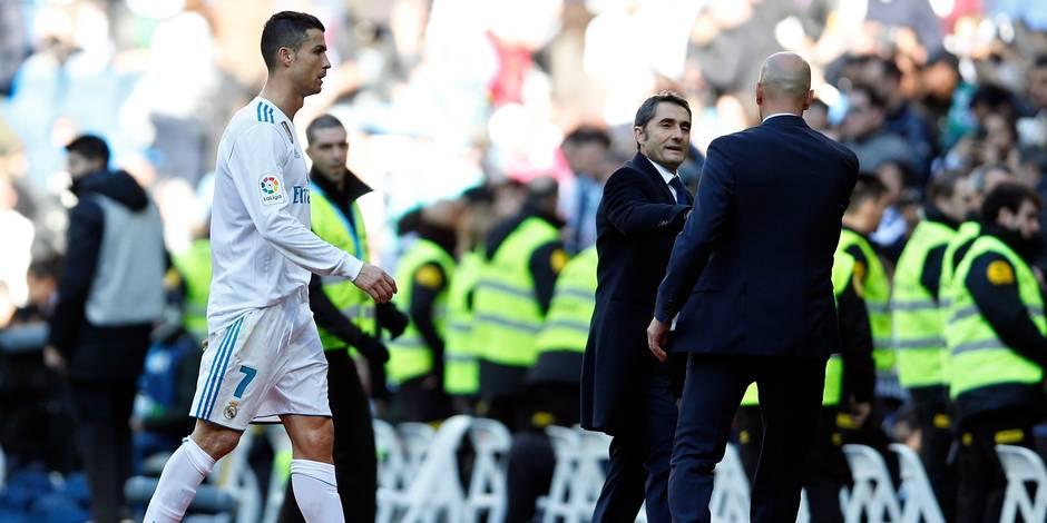La défaite passe mal pour Zidane — Real