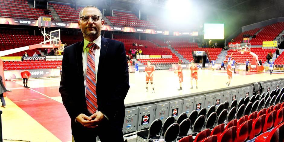 """Le nouveau boss du Spirou Charleroi est confiant: """"Nous devons ambitionner le top"""""""
