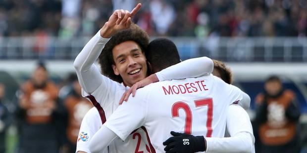 Belges à l'étranger : Witsel marque et gagne contre l'équipe de Sa, Vetonghen est prêt, Fellaini et Alderweireld pas enc...