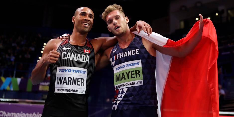 Championnats du monde d'athlétisme en salle : le Français Kevin Mayer remporte l'heptathlon