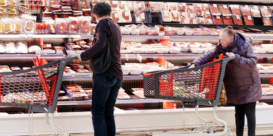 Les Belges mangent trop de viande - La DH