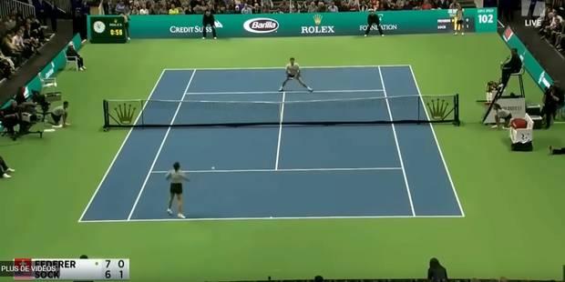 Une ramasseuse de balle met un joli point à Federer ! (VIDEO) - La DH