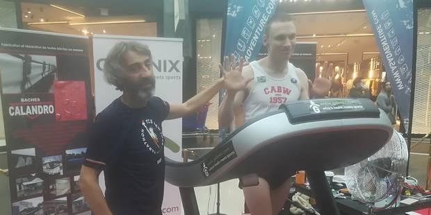 Blessé, Johan Bongrain a dû renoncer à son record du monde - La DH