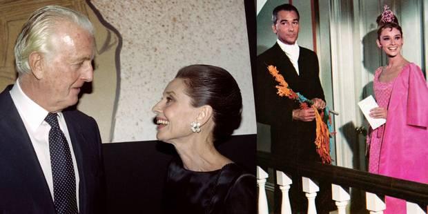 Hubert de Givenchy, le grand couturier qui magnifia Audrey Hepburn, est décédé - La DH