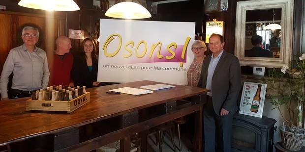 """Des CDH lancent le mouvement politique """"Osons !"""" à Montigny-le-Tilleul - La DH"""