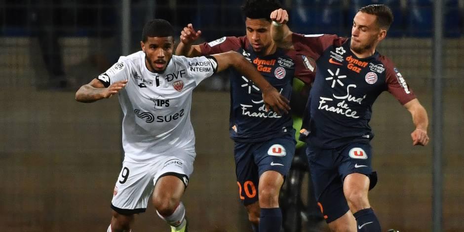 Foot : Montpellier concède le nul 2-2 face à Dijon