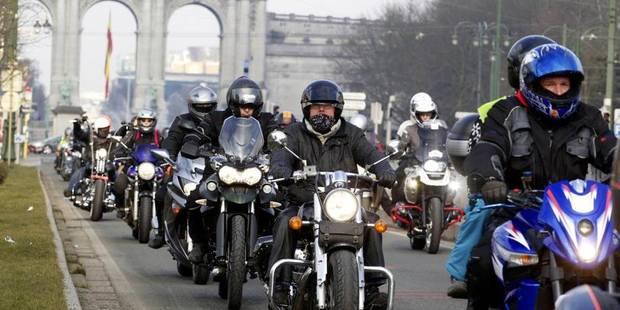 Près de 600 accidents impliquant des motards en 2017 - La DH
