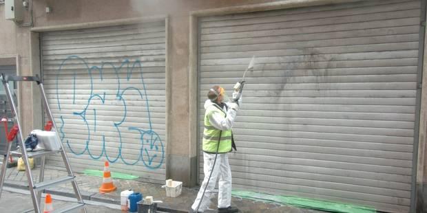 Tournai : L'huissier aux portes des tagueurs - La DH