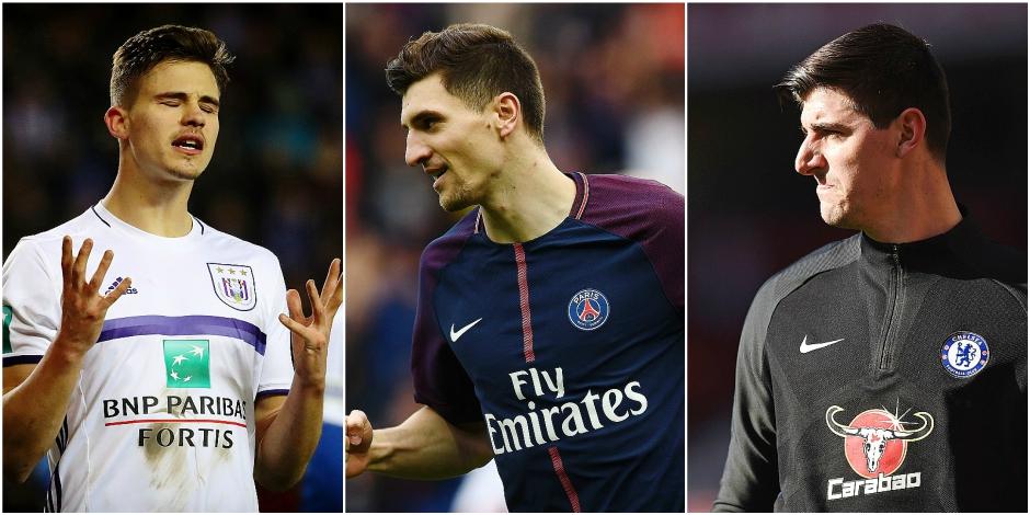 Hazard, Dendoncker, Meunier, Courtois... Ces 11 Diables malheureux en club à la recherche d'air frais