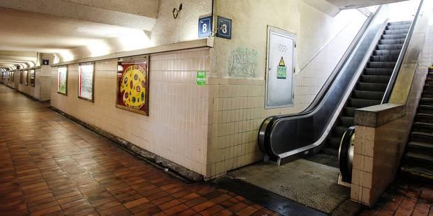 Braine-le-Comte : Les escalators toujours en stand-by - La DH