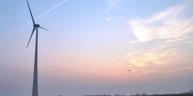 Reprise du chantier du parc éolien de Molenbaix-Hérinnes - La DH