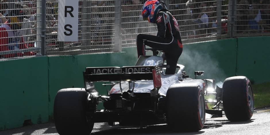 GP d'Australie: que s'est-il passé pour les malheureux Magnussen et Grosjean?