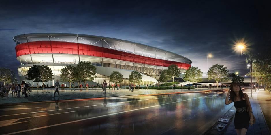 Stade national: la Ville de Bruxelles va rompre le bail avec Ghelamco, à la base du projet du nouveau stade