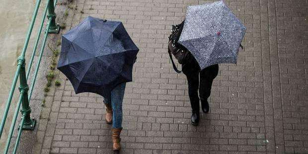 Météo : la pluie continue de mouiller la Belgique - La DH