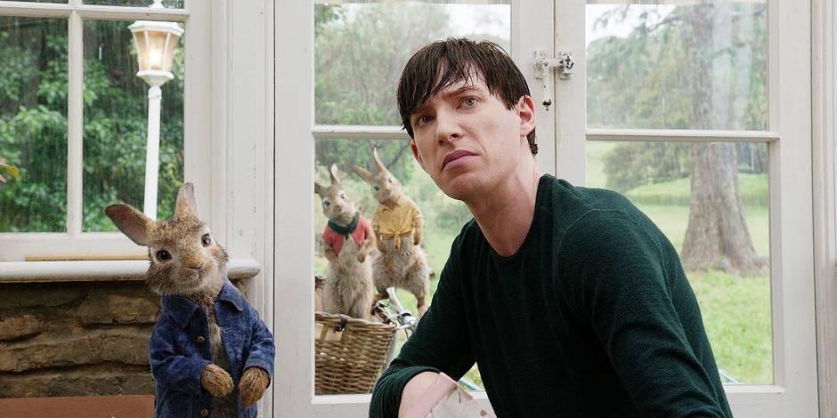 "Domnhall Gleeson: ""Se battre avec un lapin, c'est bizarre"""