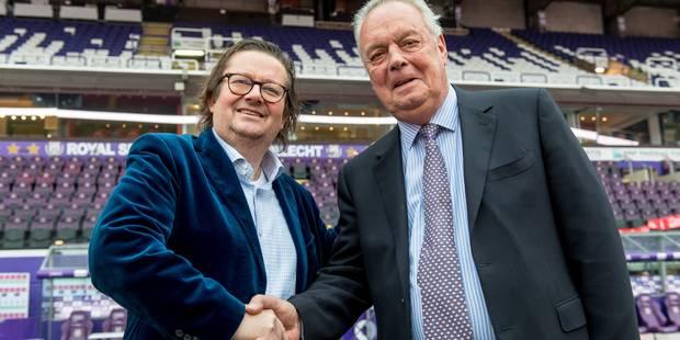 Marc Coucke devient officiellement président d'Anderlecht - La DH