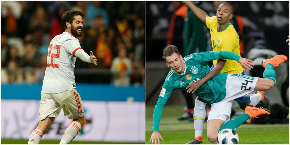 Le baromètre des équipes nationales à quelques mois du Mondial: L'Espagne fait peur, l'Allemagne un peu en retrait