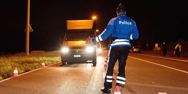 Région liégeoies : 3 accidents avec des policiers en opération ! - La DH