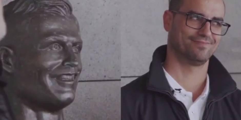 Cet artiste avait complètement raté le buste de Cristiano Ronaldo, il a retenté le coup