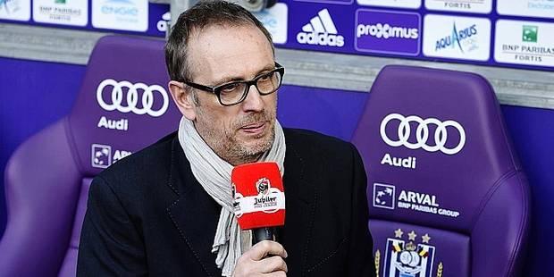 Bruno Taverne claque la porte à Anderlecht - La DH