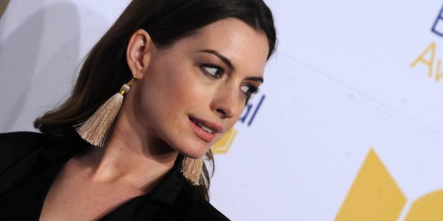 Anne Hathaway en a marre des personnes qui critiquent le poids et le fait savoir - La DH