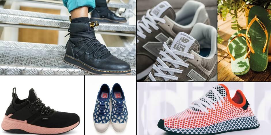 Six paires de chaussures confortables pour la vie urbaine