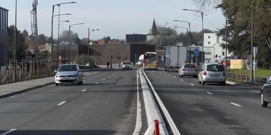 Tournai : bientôt la fin pour le chantier du boulevard de Marvis - La DH
