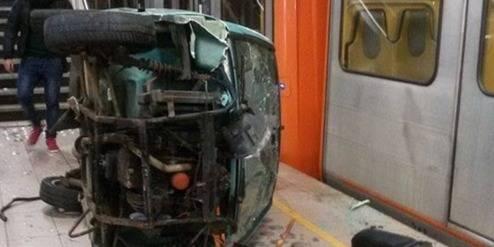 Cureghem : l'affaire de la voiture balancée dans la station Clémenceau classée sans suite - La DH