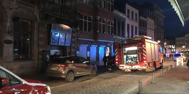 Alerte incendie au Plaza de Mons - La DH