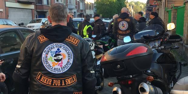 Liège : une trentaine de motards de Bikers for Children ont escorté une jeune fille victime de harcèlement - La DH
