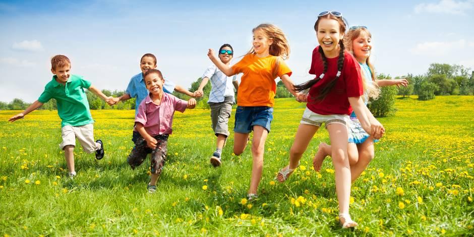 Profitez du beau temps avec vos enfants