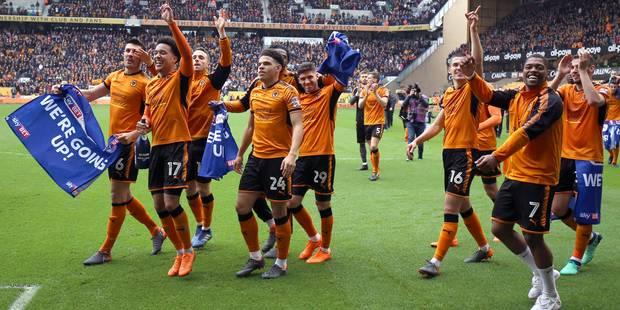 Premier League: déjà assuré d'être promu en Premier League, Wolverhampton remporte le Championship - La DH