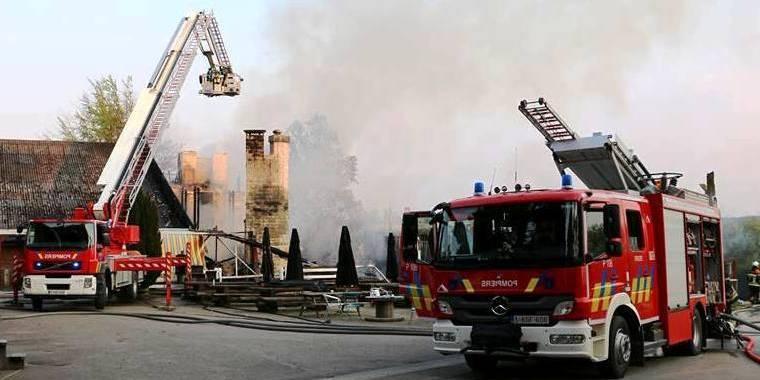 Incendie au restaurant Don Diego: le feu a pris dans la hotte
