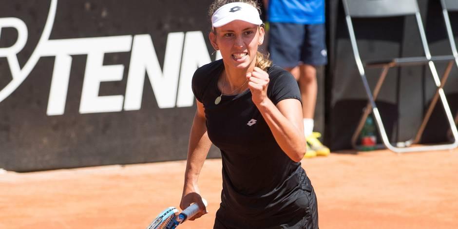 Fed Cup: Elise Mertens s'impose face à Errani, la Belgique se maintient dans le groupe mondial