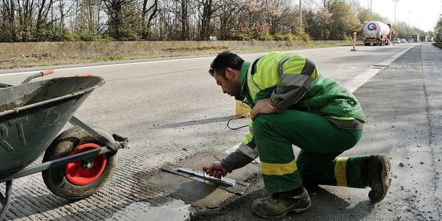 Important chantier sur l'autoroute E19 - La DH